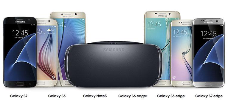 galaxy-phones- for-gear-vr