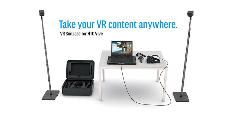 VR Suitcase HTC Vive