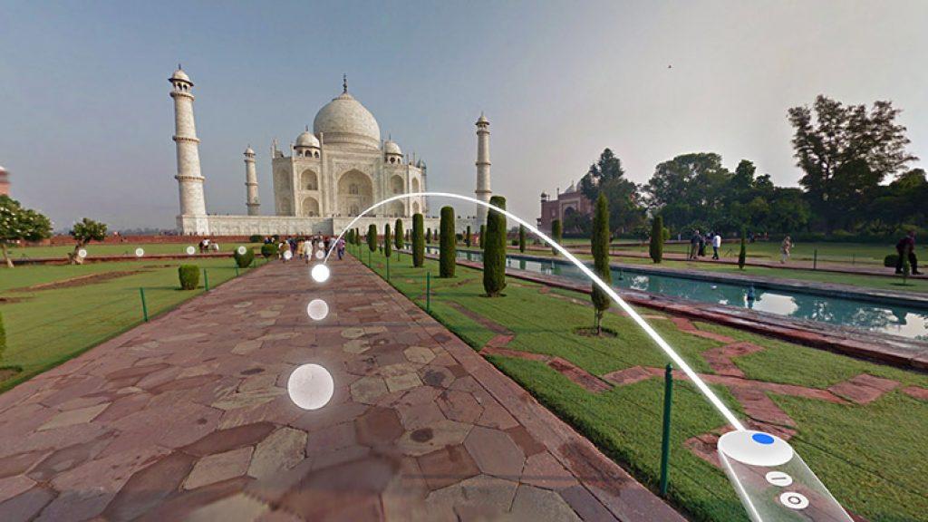 google daydream street view