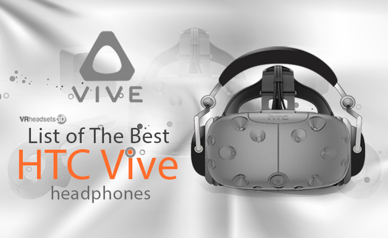 HTC Vive headphones