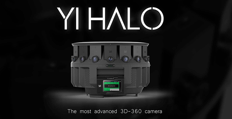 Yi Halo is the favorite camera for VR filmmakers - VR headsets 3D