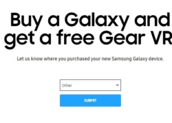 Buy Samsung phone and get Gear VR for free