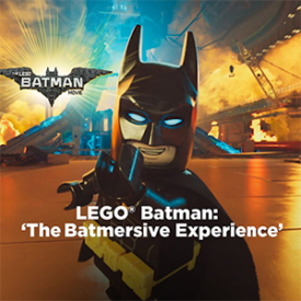 The LEGO Batman VR Movie