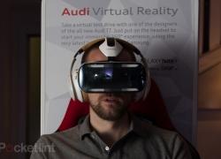 Audi TT test drive on Samsung Gear VR